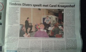Kunstmin Dordrecht Lievekamp Oss Timbres Divers ontmoet Carel Kraayenhof